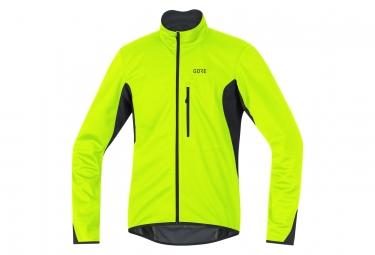 Gore C3 Gore Windstopper Element Jacket Yellow