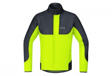 Gorce C5 Gore Windstopper Thermo Trail Jacket Black Yellow
