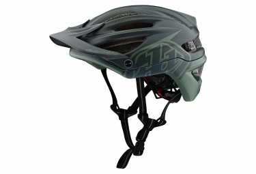 Casque vtt troy lee designs a2 decoy mips noir kaki mat xs s 54 57 cm