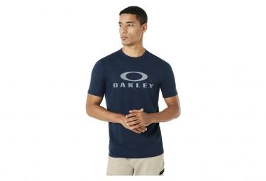 T-Shirt Manches Courtes Oakley O Bark Bleu Foncé