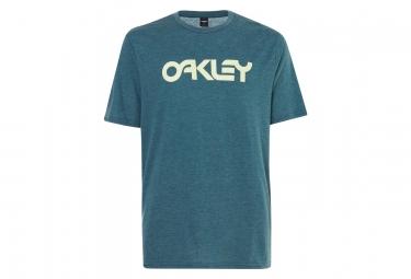 T-Shirt Manches Courtes Oakley Mark II Vert Foncé
