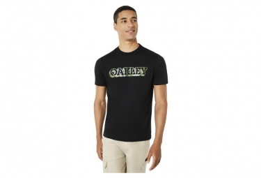 Camiseta Oakley Ss Camou Negro L