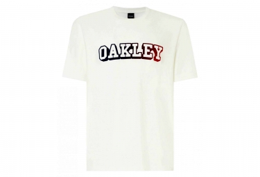 Oakley SS Tee Printable College B1B White