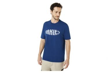 Oakley T-Shirt SS Fish Eye Dunkelblau