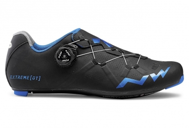 Chaussures route northwave extreme gt noir bleu metal 41