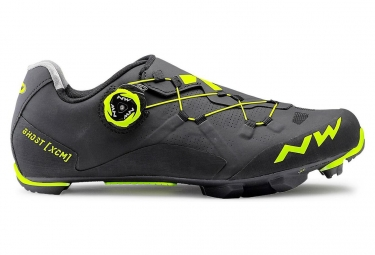 Shoes MTB Northwave Ghost Xcm Black Yellow fluo