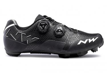 Chaussures vtt northwave rebel noir blanc 41