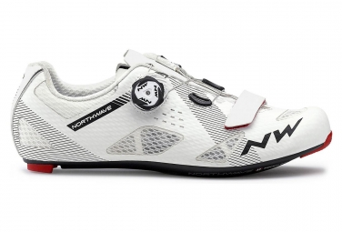 Chaussures route northwave storm carbon blanc 42