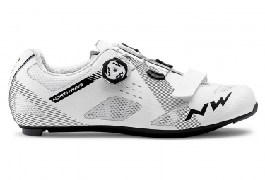 Chaussures route northwave storm blanc 41