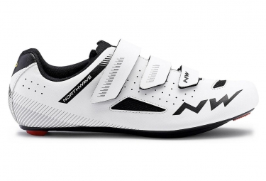 Chaussures route northwave core blanc 41