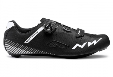 Northwave Road Shoes Core Plus Wide Black