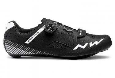 Northwave Road Shoes Core Plus Wide Black