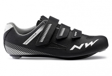 Northwave Road Shoes Women Northwave Core Black Silver