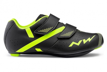 Northwave MTB Shoes Kids Torpedo 2 Junior Black Neon Yellow