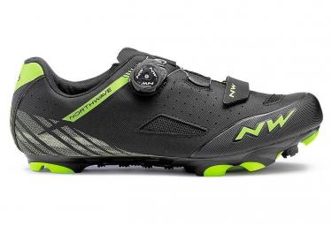 Chaussures vtt northwave origin plus noir vert 43