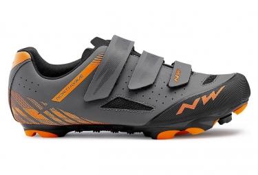 MTB Shoes Northwave Origin Anthracite Orange