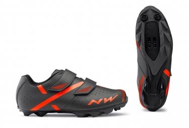 Zapatillas MTB Northwave Spike 2 Gris / Orange