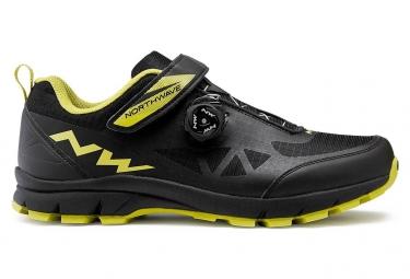Chaussures vtt northwave corsair noir vert 42