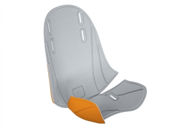 Rembourrage pour porte bebe thule ridealong mini gris clair orange