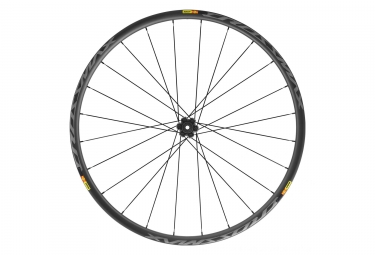 Roue avant mavic crossmax pro carbon 2019 29 15 9 x 100 mm 6 trous noir