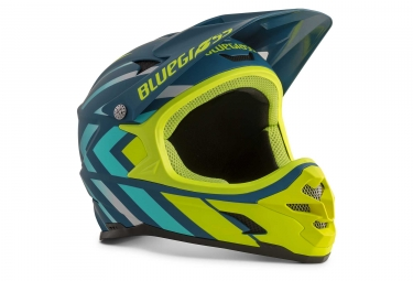 Bluegrass Intox Full Face Helmet Avio Shaded Fluo Yellow Matt