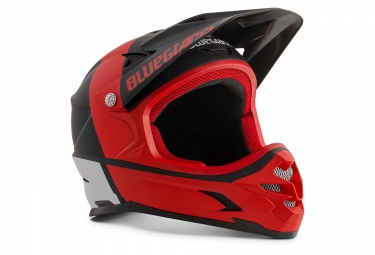 Bluegrass Intox Full Face Helmet Black Red White Matt