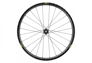 Roue avant 29 mavic 2019 crossmax elite carbon 15 9x100 mm 6 trous noir