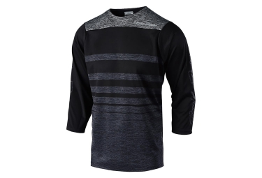 Maglia Troy Lee Designs Ruckus Streamline 3/4 Maniche Heather Nero Grigio melange