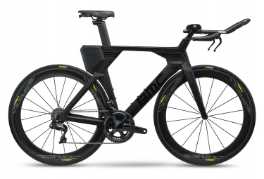 Velo de triathlon bmc 2019 timemachine 01 three shimano ultegra di2 11v noir 54 cm 1