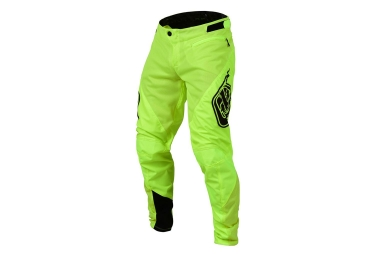 Pantalon troy lee designs sprint jaune fluo 30