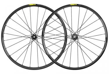 Paire de roues 2019 mavic xa pro carbon 35 27 5 boost 15x110mm 12x148mm 6 trous noir