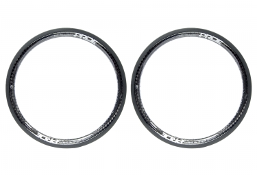 Pair of Rims Highmod Pro Carbon 20'' Gloss