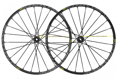Mavic Crossmax Pro Wheelset 29'' 2019 | 15/9x100mm - 12x142mm / 9x135mm | 6 Bolts | Black