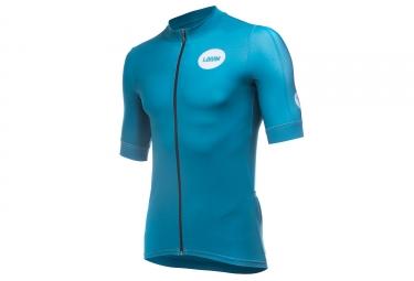 LeBram Allos Short Sleeve Jersey Pro Fit Petrole