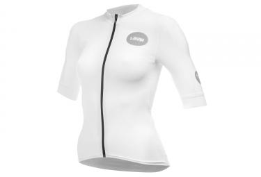 LeBram Allos Short Sleeve Women Jersey Pro Fit White