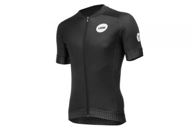 LeBram Allos Short Sleeve Jersey Adjusted Fit Black