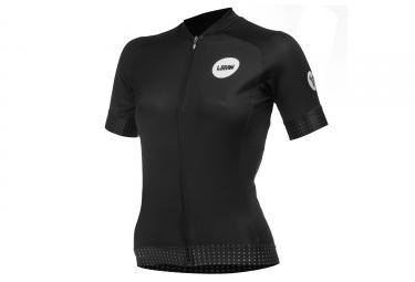 LeBram Allos Short Sleeve Women Jersey Adjusted Fit Black
