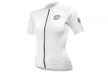 LeBram Allos Short Sleeve Women Jersey Adjusted Fit White