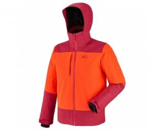 Veste de ski millet bullit ii orange deep red xl