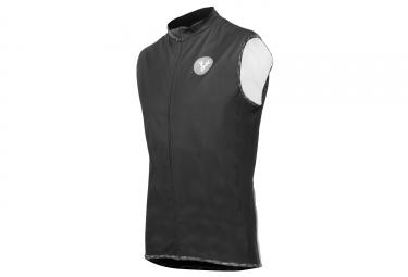 LeBram Eze Sleeveless Windbreaker Jacket Black