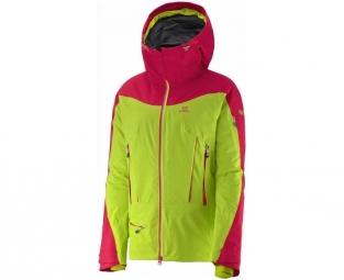Veste de ski salomon soulquest bc gtx granny green s