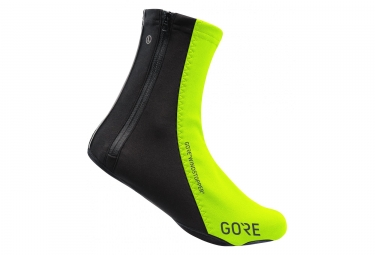Gore C5 Gore Windstopper Overshoes Black yellow