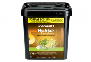 Overstims Hydrixir Longue Distance Energy Drink Mojito 3 kg