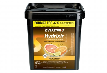 Overstims Hydrixir Longue Distance Energy Drink Citrus Fruits 3 kg