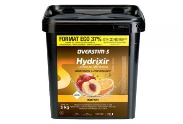 Boisson Énergétique Overstims Hydrixir Longue Distance Multi-Fruits 3 kg