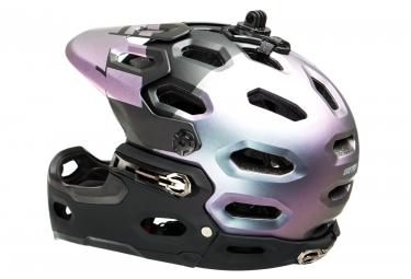 Casque Intégral BELL SUPER 3R Noir/Argent/Violet