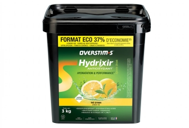 Overstims Hydrixir Antioxydant Energy Drink Lemon Tea 3 kg
