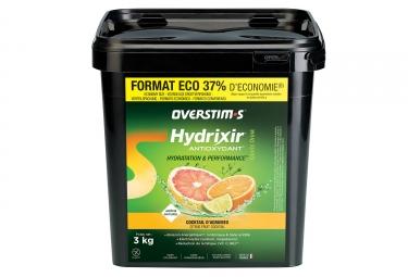 Boisson energetique overstims hydrixir antioxydant cocktail d agrumes 3 kg