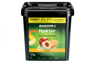 Overstims Hydrixir Antioxidante Energy Drink Multifruits 3 kg