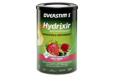 Overstims Hydrixir Antioxydant Energy Drink Red Berries 600 g
